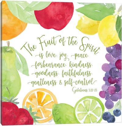 Fruit of the Spirit I-Fruit Canvas Art Print