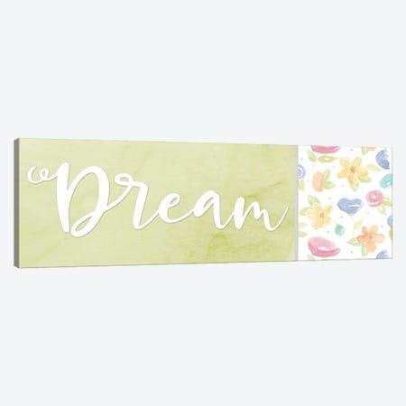 Girl Inspiration panel IV-Dream Canvas Print #TRE488} by Tara Reed Canvas Artwork