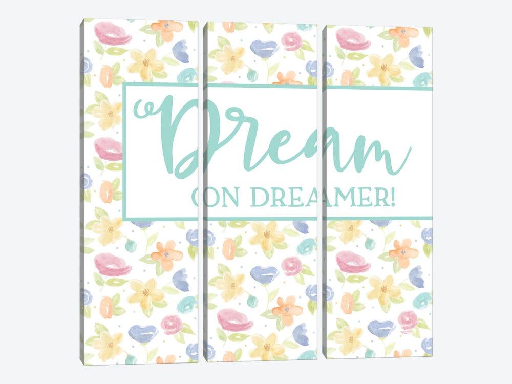 Girl Inspiration V-Dream On by Tara Reed 3-piece Canvas Print