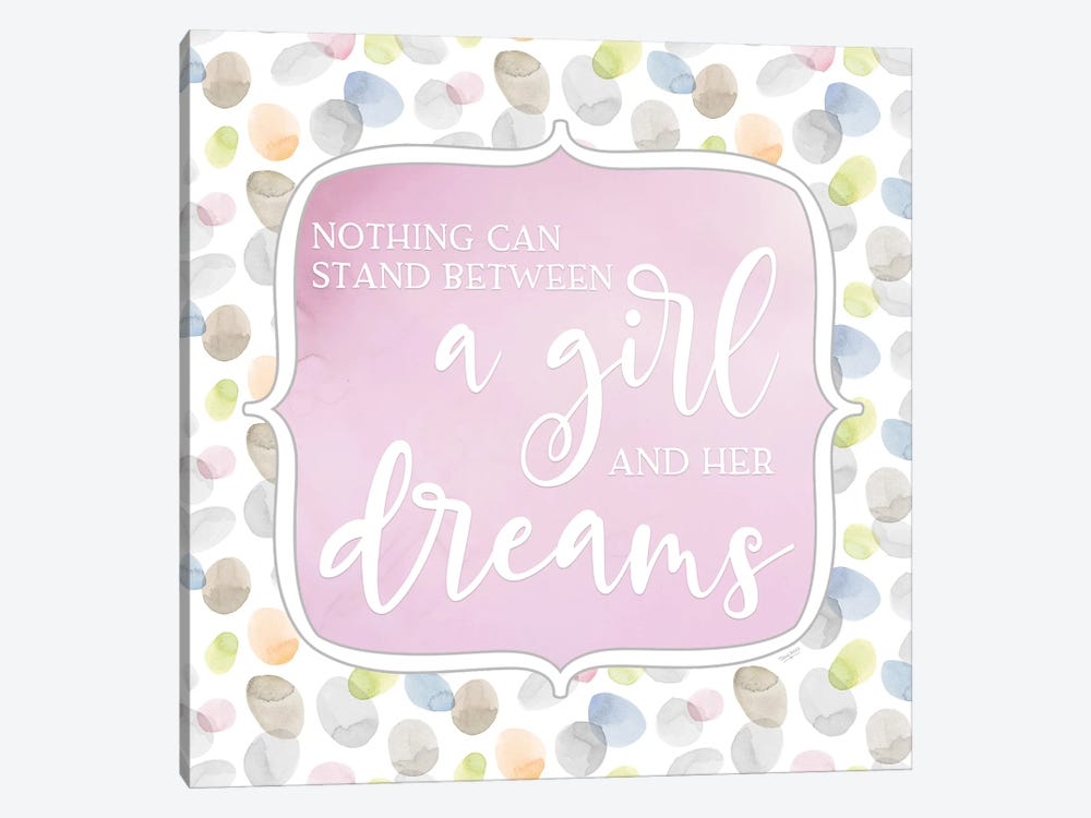 Girl Inspiration VI-Girl and her Dreams by Tara Reed 1-piece Canvas Art Print