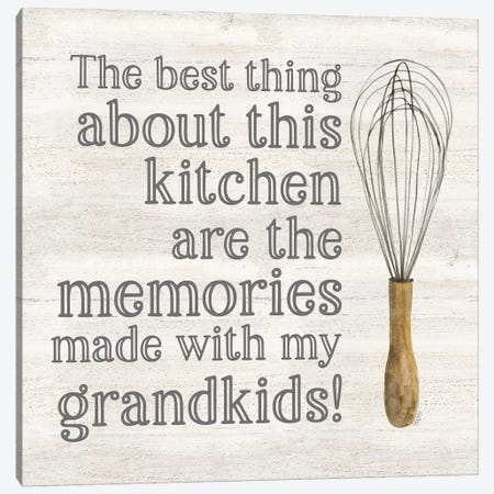 Grandparent Life VII-Memories Canvas Print #TRE541} by Tara Reed Art Print