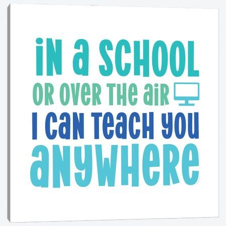 Teacher Truths Blue IV-Anywhere Canvas Print #TRE604} by Tara Reed Canvas Print