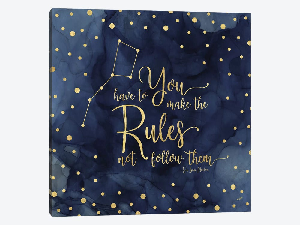Oh My Stars I Rules by Tara Reed 1-piece Art Print