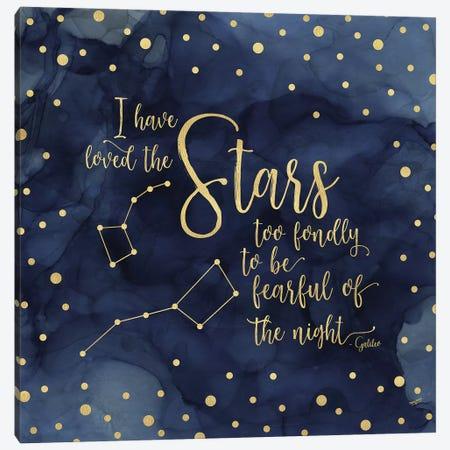 Oh My Stars IV Stars Canvas Print #TRE68} by Tara Reed Canvas Artwork
