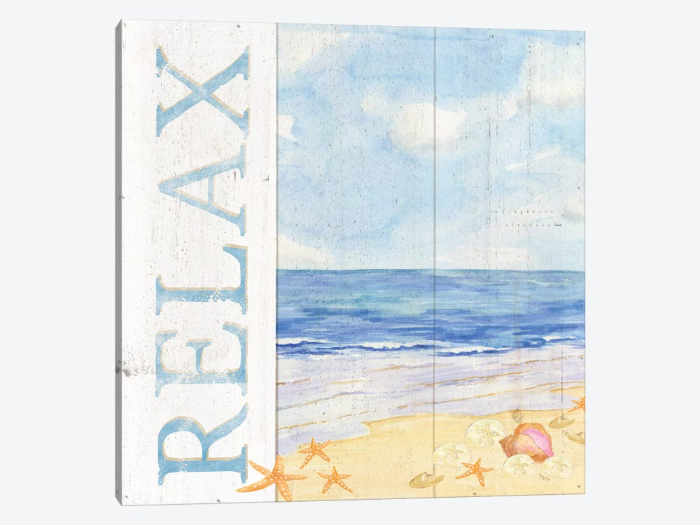 Savor The Sea I by Tara Reed 1-piece Canvas Artwork