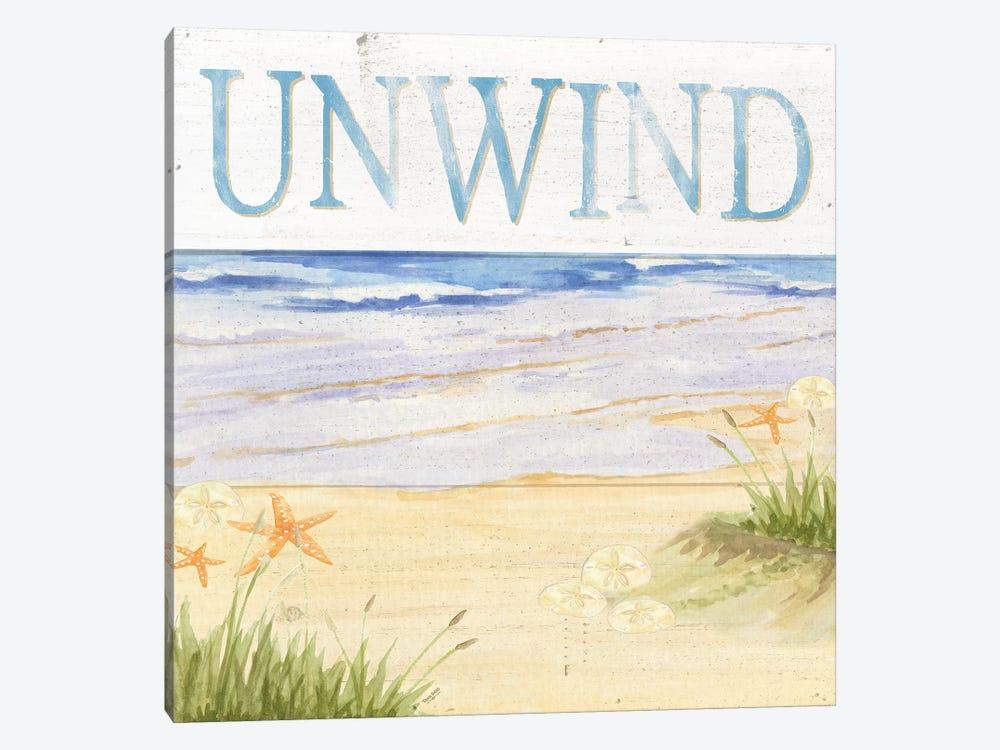 Savor The Sea IV by Tara Reed 1-piece Canvas Art Print