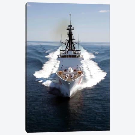 US Coast Guard Cutter Waesche Navigates The Gulf Of Mexico I Canvas Print #TRK1022} by Stocktrek Images Canvas Art