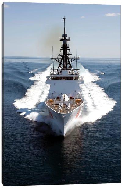 US Coast Guard Cutter Waesche Navigates The Gulf Of Mexico I Canvas Art Print