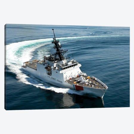 US Coast Guard Cutter Waesche Navigates The Gulf Of Mexico II Canvas Print #TRK1023} by Stocktrek Images Canvas Art