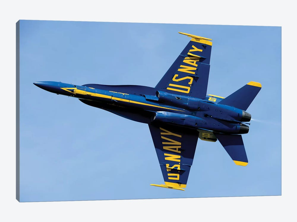 US Navy Flight Demonstration Squadron, The Blue Angels I 1-piece Canvas Art Print