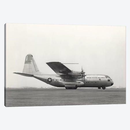 YC-130 First Flight From Burbank, California Canvas Print #TRK1063} by Stocktrek Images Canvas Wall Art