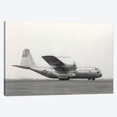 YC-130 First Flight From Burbank, California Canvas Print #TRK1063} by Stocktrek Images Canvas Wall Art