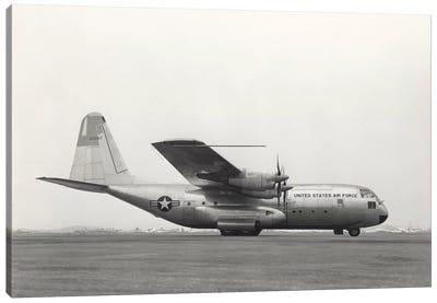 YC-130 First Flight From Burbank, California Canvas Art Print