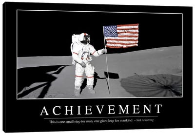 Achievement Canvas Art Print