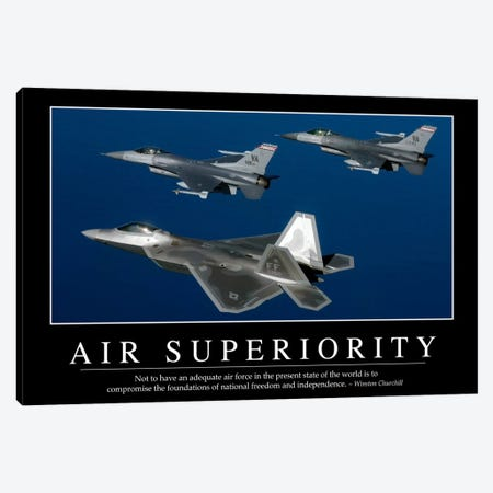 Air Superiority Canvas Print #TRK1071} by Stocktrek Images Canvas Print