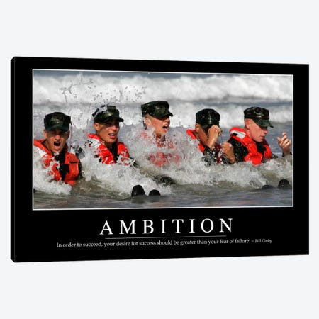 Ambition Canvas Print #TRK1072} by Stocktrek Images Art Print