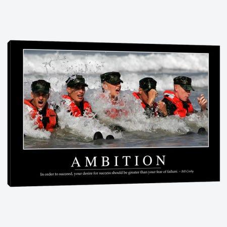 Ambition 3-Piece Canvas #TRK1072} by Stocktrek Images Art Print