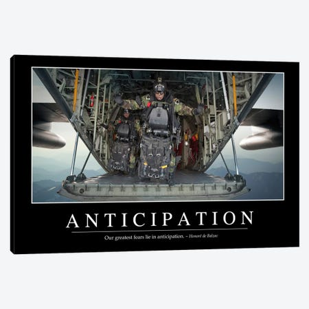 Anticipation Canvas Print #TRK1073} by Stocktrek Images Art Print