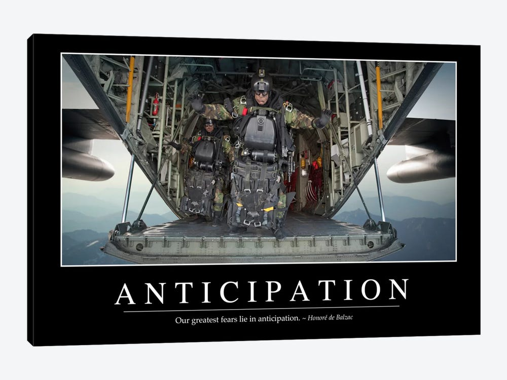 Anticipation by Stocktrek Images 1-piece Canvas Print