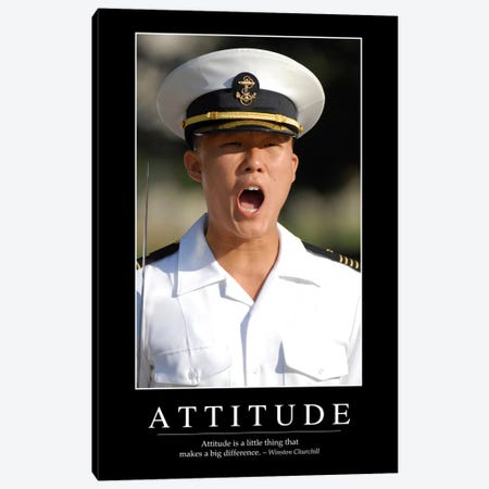 Attitude I Canvas Print #TRK1074} by Stocktrek Images Canvas Artwork