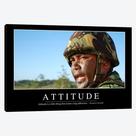 Attitude II Canvas Print #TRK1075} by Stocktrek Images Canvas Art