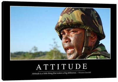 Attitude II Canvas Art Print