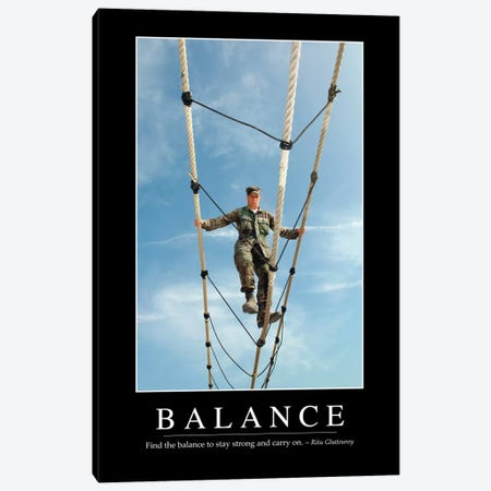 Balance Canvas Print #TRK1076} by Stocktrek Images Canvas Wall Art