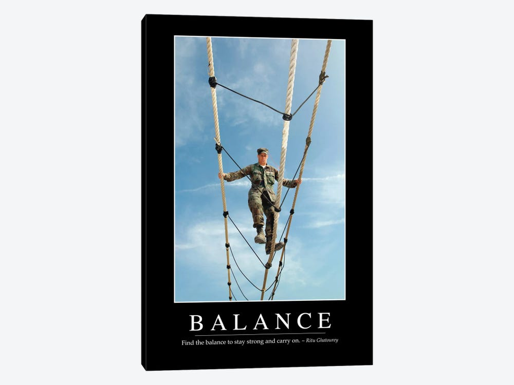 Balance by Stocktrek Images 1-piece Canvas Artwork