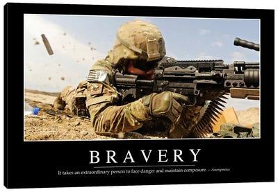 Bravery Canvas Art Print