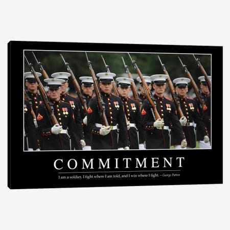 Commitment Canvas Print #TRK1083} by Stocktrek Images Canvas Art