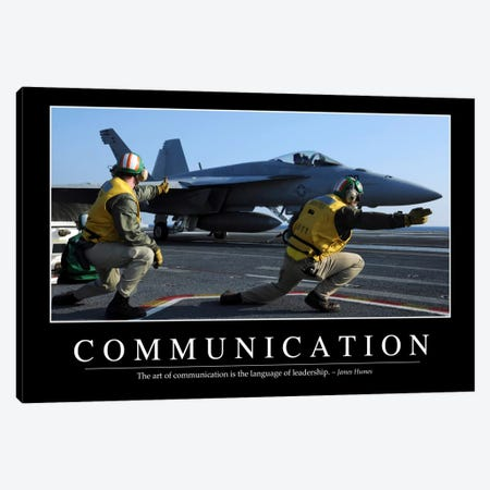 Communication Canvas Print #TRK1084} by Stocktrek Images Canvas Art Print