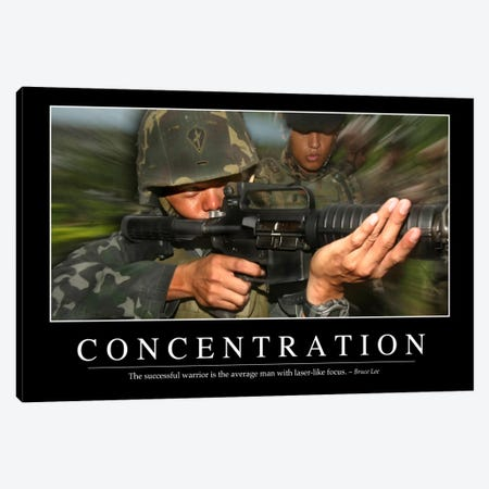 Concentration Canvas Print #TRK1085} by Stocktrek Images Art Print