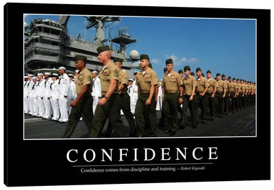 Confidence Canvas Art Print