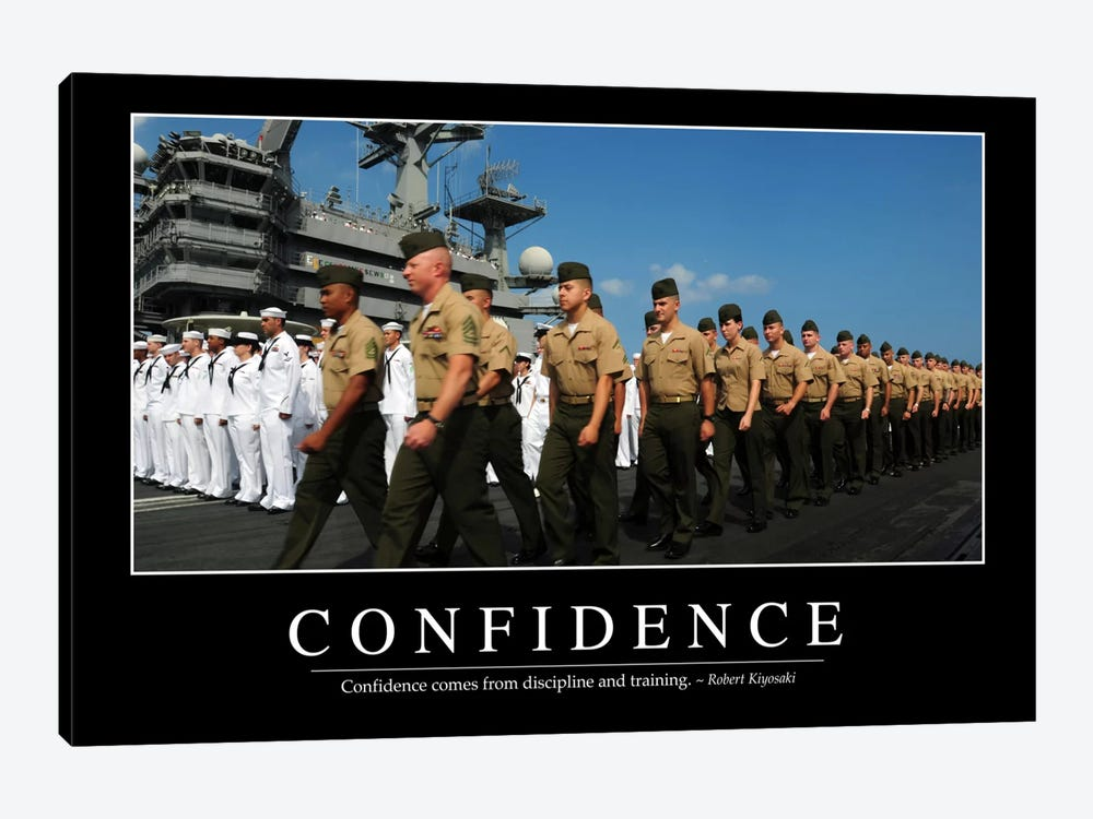 Confidence by Stocktrek Images 1-piece Canvas Print