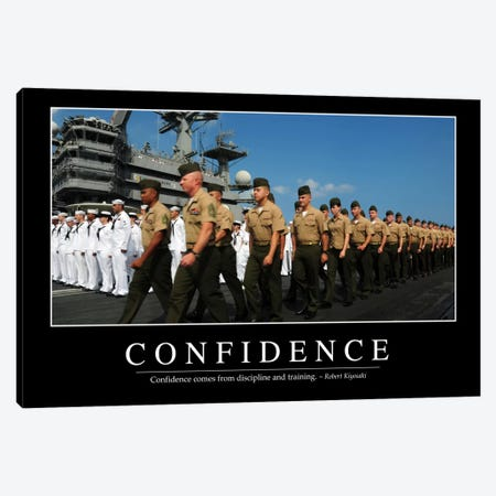 Confidence Canvas Print #TRK1086} by Stocktrek Images Canvas Art Print