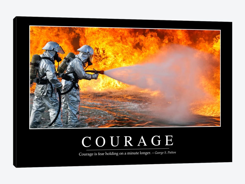 Courage by Stocktrek Images 1-piece Canvas Wall Art