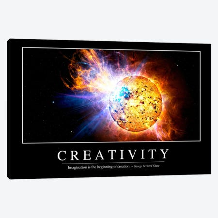 Creativity Canvas Print #TRK1088} by Stocktrek Images Canvas Wall Art