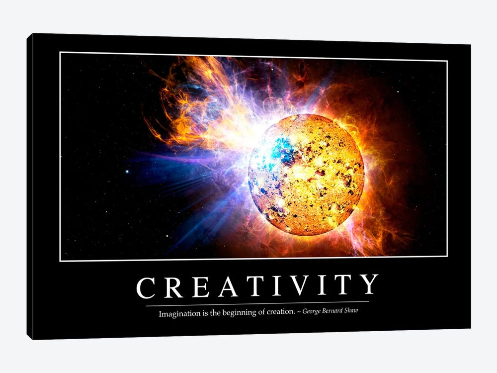Creativity by Stocktrek Images 1-piece Canvas Art Print