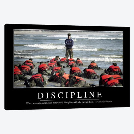 Discipline Canvas Print #TRK1093} by Stocktrek Images Canvas Print