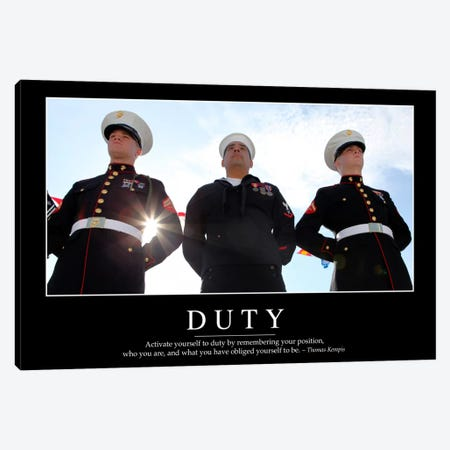 Duty II Canvas Print #TRK1096} by Stocktrek Images Canvas Artwork