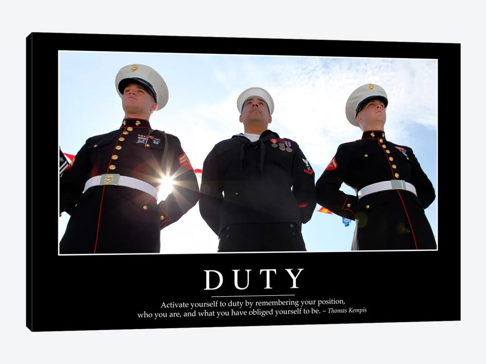 Duty II by Stocktrek Images 1-piece Canvas Artwork