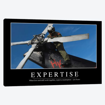 Expertise Canvas Print #TRK1099} by Stocktrek Images Canvas Print