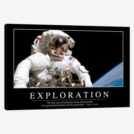 Exploration Canvas Print #TRK1100} by Stocktrek Images Canvas Art Print