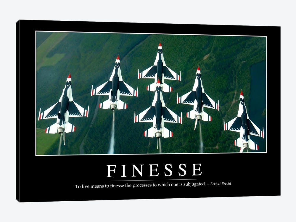 Finesse by Stocktrek Images 1-piece Canvas Print