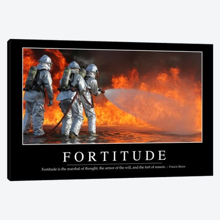 Fortitude Canvas Print #TRK1102} by Stocktrek Images Canvas Print