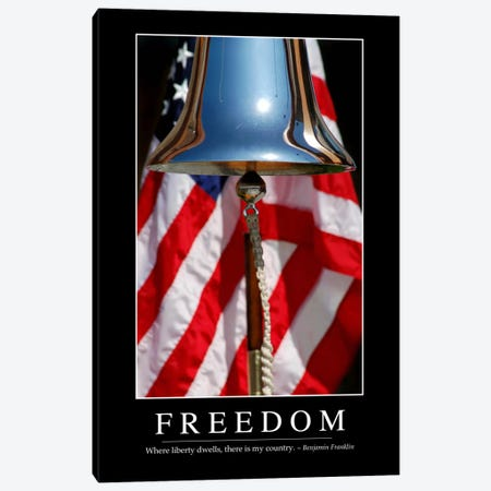 Freedom I Canvas Print #TRK1103} by Stocktrek Images Canvas Art Print