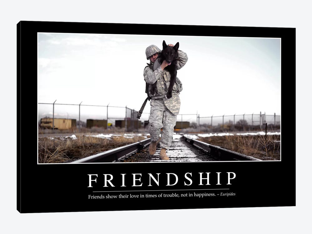 Friendship by Stocktrek Images 1-piece Canvas Print