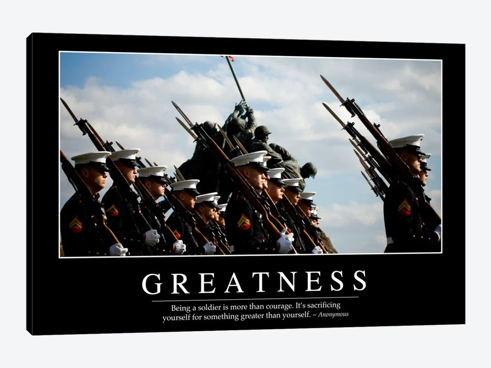 Greatness by Stocktrek Images 1-piece Canvas Wall Art