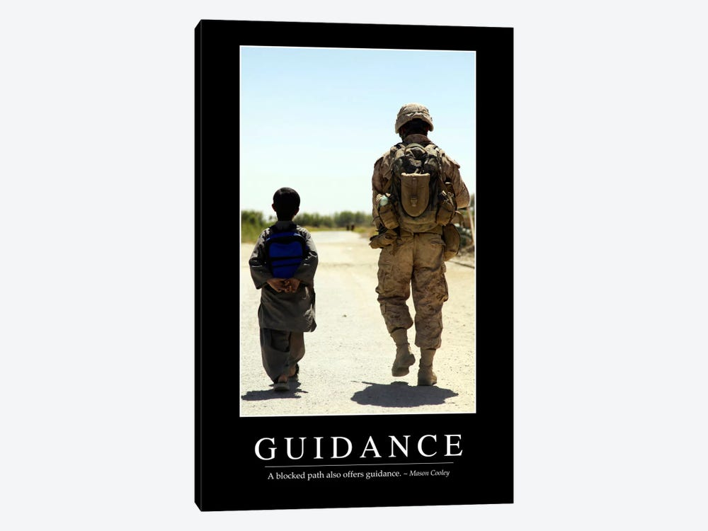 Guidance by Stocktrek Images 1-piece Art Print