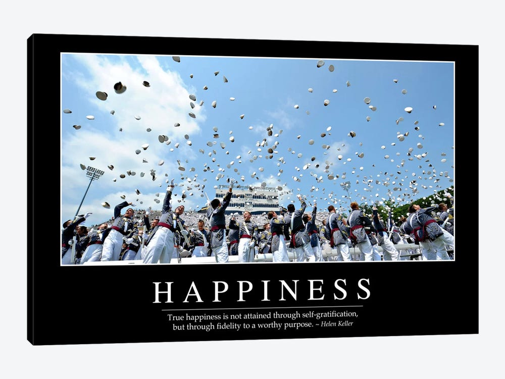 Happiness by Stocktrek Images 1-piece Canvas Art
